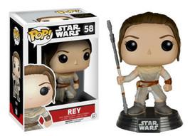 Star Wars The Force Awakens Rey Vinyl POP! Figure Toy #58 FUNKO NEW MIB - $12.55