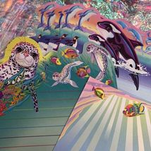 90s Lisa Frank Stickers Stationery Lot Dolphins Max Whale Penguins Roary Seal image 3