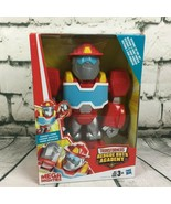 Transformers 10 inch Rescue Bots Heatwave Academy Mega Mighties Action F... - $11.87