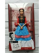 Mattel Barbie Frida Kahlo Inspiring Women Series Mexican Artist Limited ... - $44.95