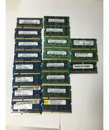 Lot Of 19 2GB SODIMM Laptop Memory RAM mixed speeds - $44.55