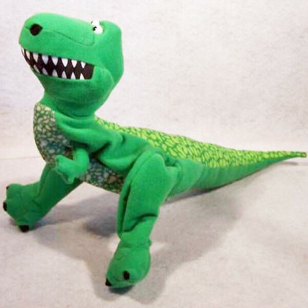 Disney Toy Story Rex the Dinosaur Plush Hand Puppet  PIXAR T-REX