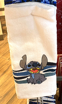 Disney Parks Stitch Ohana Kitchen Towel Set of 2 NEW - $27.90