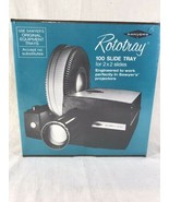 SAWYER'S 100 ROTARY PROJECTOR SLIDE TRAY, NEW IN SEALED BOX - $15.68