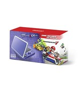 Nintendo 2DS XL - Purple + Silver With Mario Kart 7 Pre-installed - Nint... - $159.69
