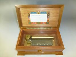 Vintage Swiss Reuge Music Box 72 Key Plays Hungarian Rhapsody F.Liszt (3 Parts) - $1,480.05