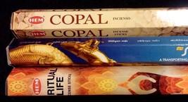 SPIRITUAL LIFE Copal Spiritual Guide 60 HEM Incense Sticks Sampler Gift Set - $7.00