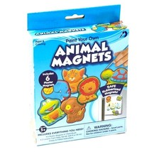 "Kids Craft 6pc Plaster Magnet Kit: * Children""s craft set * 6 pieces * E... - $9.95"