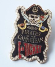 Disney Pin - Pirates Of The Caribbean E-Ticket LE 2000 Limited Edition #264 - $18.32