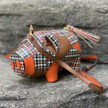 Tory Burch Peggy The Pig Mini Plaid Bag - $295.00