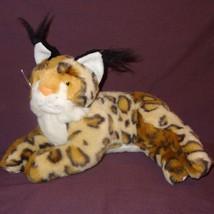 """Bobcat Plush Stuffed 8""""Animal Sugar Loaf Brown Tan White - $31.56"""