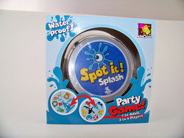 Asmodee Spot It! Splash Party Game Original Card Game 2 To 8 Players Ages 7+ - $32.79