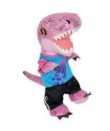 Build A Bear Pink Metallic Tyrannosaurus Rex T-Rex Plush w/ Soccer Shirt... - $37.99