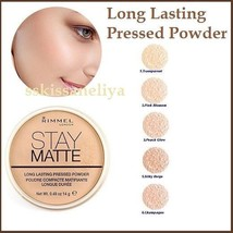 Rimmel Stay Matte Pressed Powder 14 g Long Lasting Effect Different Shades - $9.99