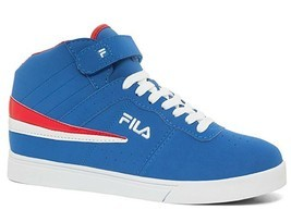 Fila Men's Vulc 13 Mid Plus High Top Classic Athletic Casual Sneaker Blue White  - $32.99