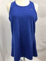 Under Armour Royal Blue Semi Fitted Heat Gear Tank Top, Women's Size M - $14.24