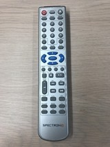 SPECTRONIQ DVD Remote Control Tested And Cleaned                      E9