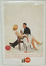 Coca Cola Bride and Groom Dance Advertisement National Geographic 1963 - $9.90