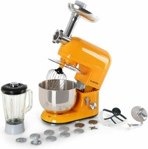 Klarstein Lucia Orangina Robot Kitchen Shake Planetary 1200W Bowl 169.1o... - $519.36