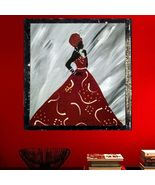 10 X 10 Canvas African Princess Painting - $17.95