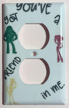 Toy Story Friends in me Light Switch Power outlet Wall Cover Plate Home decor image 2