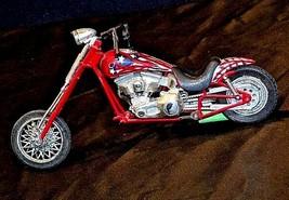 Chopper Motorcycle Figurine Replica 305-BVintage image 1
