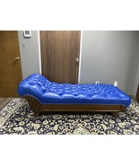 19th Century Carved Oak Fainting Couch Settee Chaise - $5,795.00