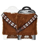 Star Wars Chewbacca Fur Drink Can Cooler Huggie Koozie with Bandoleer NE... - £5.88 GBP