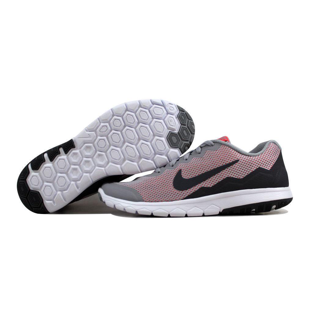 wholesale dealer 1c9a5 e6e0a Nike Flex Experience Run 4 Wolf Grey Dark Grey-Hot Lava 749178-009 Womens  SZ 7.5