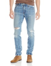 NEW LEVI'S STRAUSS 511 MEN'S SLIM FIT PREMIUM DISTRESSED DENIM JEANS 511-1853