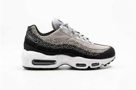 Nike Women's Air Max 95 Premium Black/Wolf Grey/White Sneakers 807443-016  - $230.00