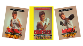 3 DVD Set Nok Out Pro Boxing instructional- Sean O'Grady winning in the ... - $64.00