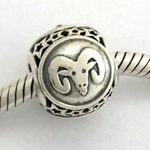 Authentisch Pandora Widder Sternzeichen Sterlingsilber Charm 791936, Neu - $40.89
