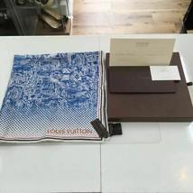 LOUIS VUITTON silk scarf 68 × 70 cm  - £336.88 GBP