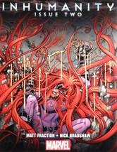 "Inhumanity #2 Promo Poster Nick Bradshaw Art 10x13"" NEW Marvel 2013 - $6.50"