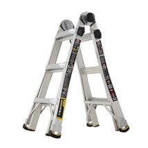 14 ft. Reach MPX Aluminum Multi-Position Ladder with 375 lb. Load Capaci... - $128.29