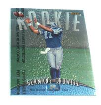 1998 Topps Eccellente Germane Crowell #133 Detroit Lions NFL RC Rookie C... - $12.85