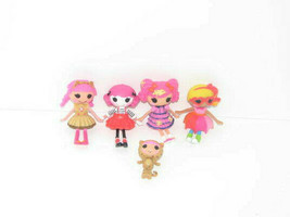 Set of 4 Lalaloopsy Mini Dolls and 1 Little Sister - $17.80