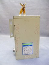 HSSF3AS Hevi-Duty Transformer 3KVA Type HS 240V 480V General Signal - $200.18