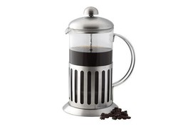 Apollo French Press Pot Glass & Chrome Steel Jug Coffee Maker Plunger Es... - £12.76 GBP