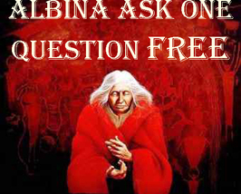 Free! Albina Will Answer One Question Reading W/ Any $40 Order Magick CASSIA4 - $0.00