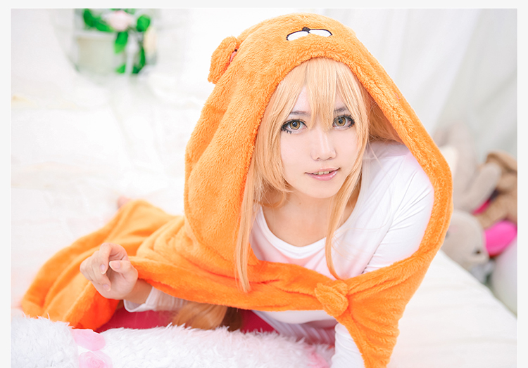Dried fish sister! Umar chan cosplaycloak air conditioning blanket Costumes