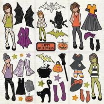 "Julie Nutting ""Bootiful"" PhotoPlay Halloween Ephemera Pack image 2"