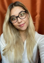 New Mikli by ALAIN MIKLI ML1912M01 54mm Black White Women's Eyeglasses F... - $59.99