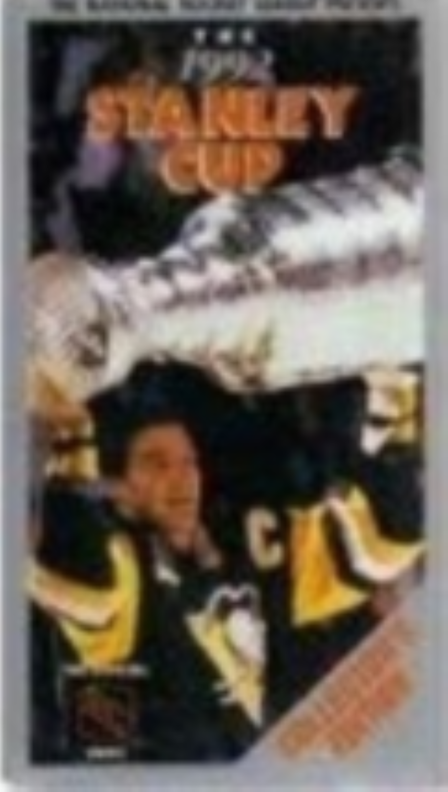 1992 Stanley Cup Pittsburgh / Chicago Vhs