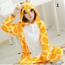 Cute Giraffe Pajamas Cosplay Costume Cartoon Animal Children Sleepwears ... - $24.99