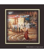Harvest Moon Ball Companion Print by Terry Redlin - $18.00