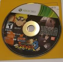 Naruto Shippuden: Ultimate Ninja Storm 3 (Microsoft Xbox 360, 2013) No Case - $5.94