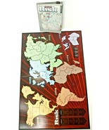2008 Risk Game Strategic Conquest OEM Replacement Board & Instruction Ma... - $12.59