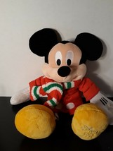 Holiday Mickey Mouse Plush from The Disney Store 2010 - $12.79